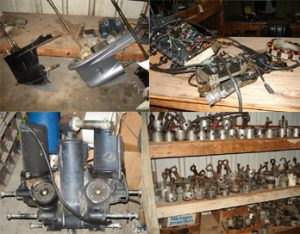 Used Outboard Motors, Used Outboard Parts, Power Poles For Sale