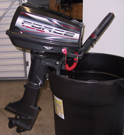 Used Mercury Force 5 Hp Outboard Boat Motor Outboards Used For Sale