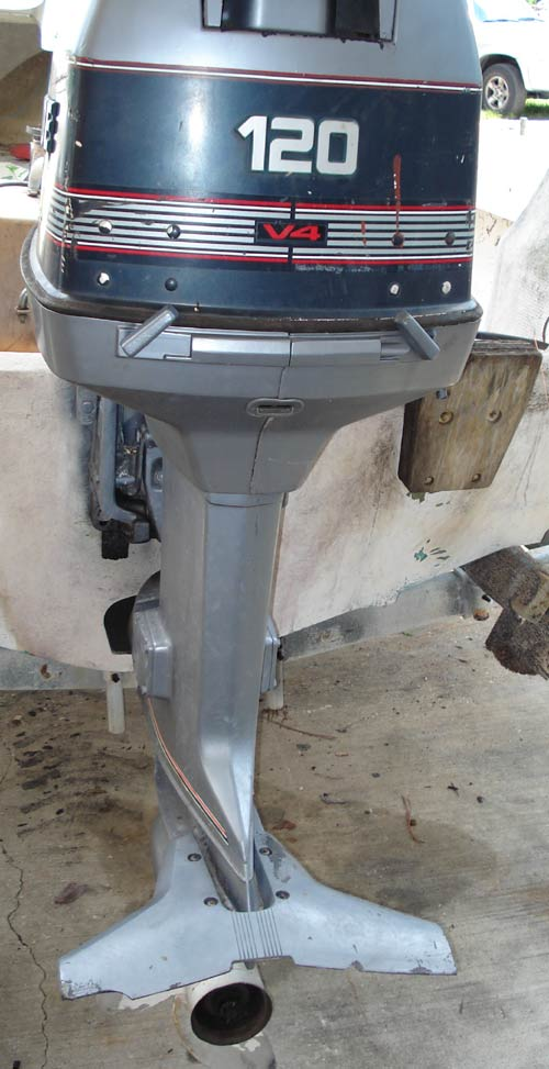 Evinrude 25 Hp >> 120 hp Used Evinrude Outboard for Sale