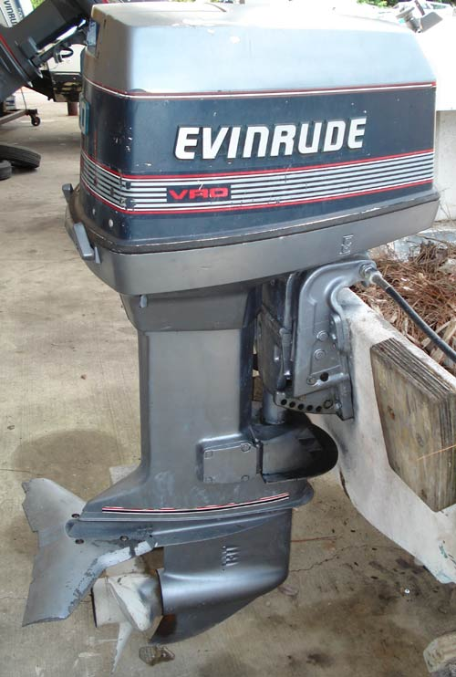 evinrude 120 outboard hp motor boat ship smalloutboards