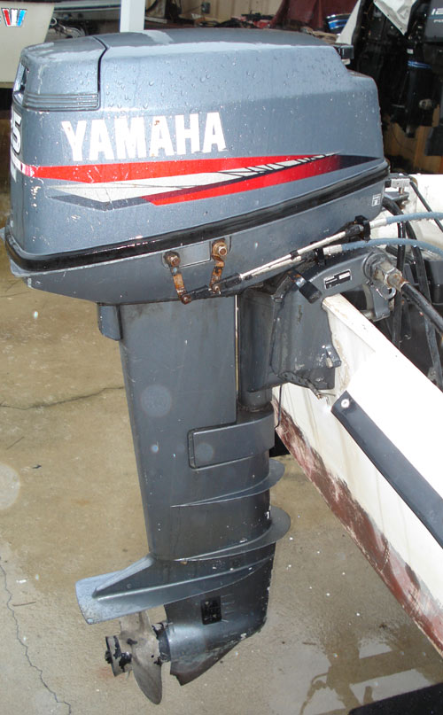 25hp Yamaha Outboard