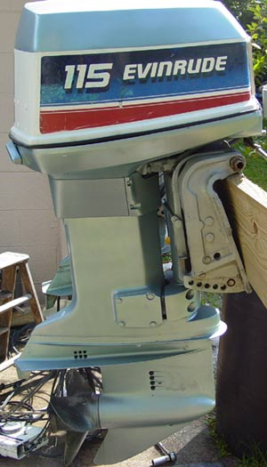 Evinrude outboard motors 115hp used outboard motors for for Used evinrude boat motors for sale