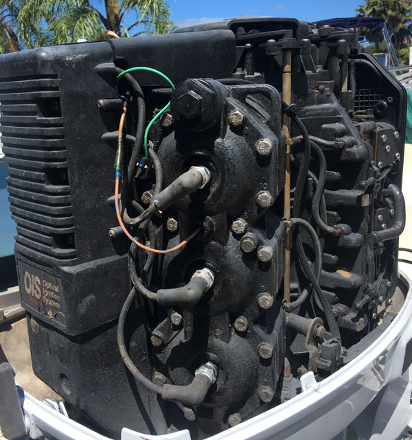 150 hp Johnson Ocean Runner Outboard Motor For Sale