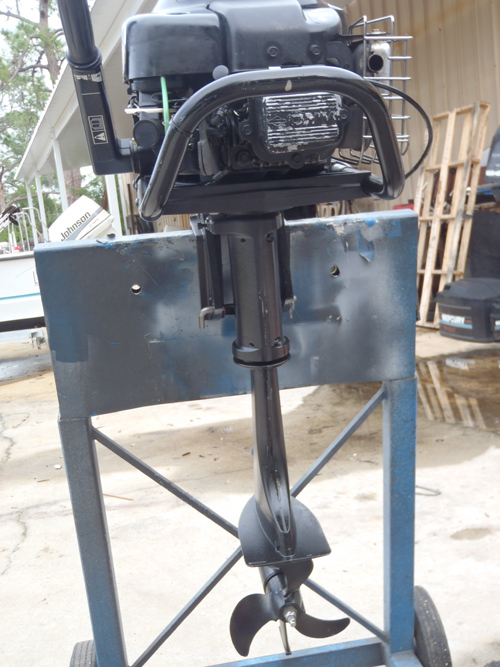 5 Hp Briggs And Stratton Outboard Boat Motor Free Shipping