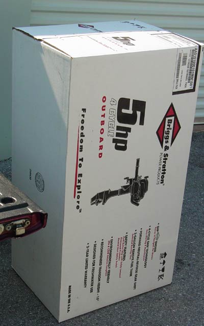 Briggs Stratton 5hp Engine Outboard Free Shipping