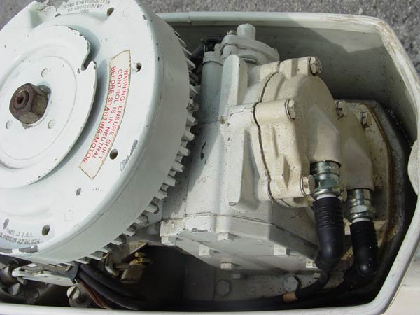 Duck Boats For Sale >> 15 hp US Marine Chrysler Force Outboard Boat Motor For Sale