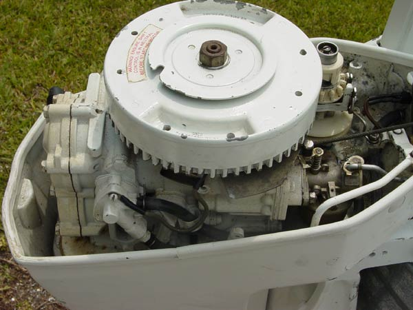 15 hp us marine chrysler force outboard boat motor for sale