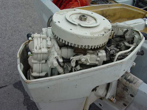 Duck Boats For Sale >> 15hp Chrysler Outboard