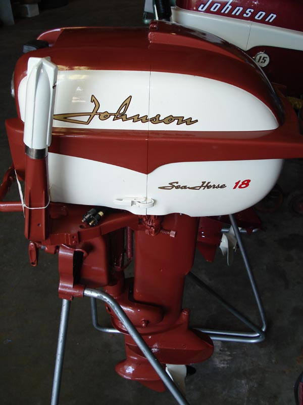 Johnson 18 Hp Outboard Boat Motor For Sale