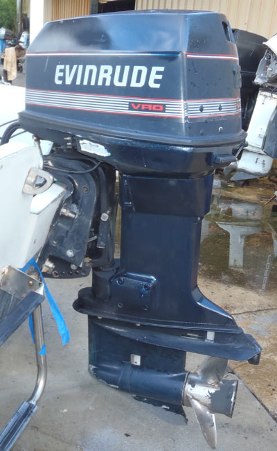 Evinrude 100 hp Outboard Boat Motor For Sale