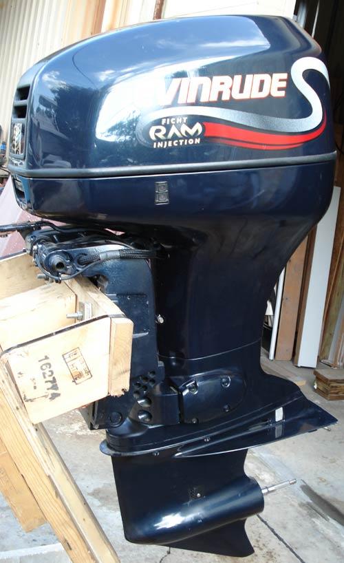 2000 115hp V4 Evinrude Ficht Ram Outboard