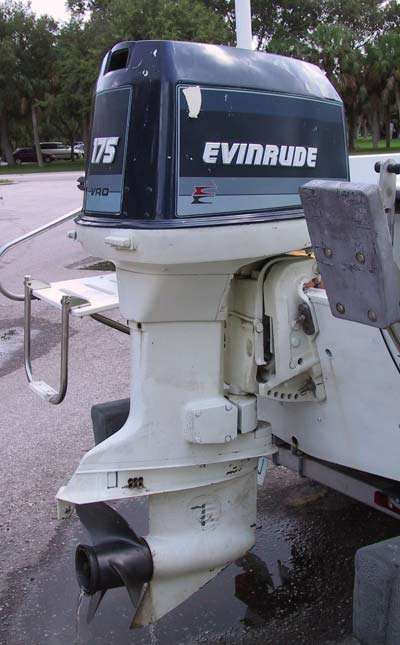 Used evinrude 150 hp outboard boat motor for sale evinrude for Used evinrude boat motors for sale