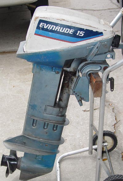 long shaft evinrude 15 hp outboard for sale