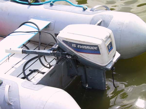 evinrude 15hp outboard boat motor  electric start we ship anywhere! this  motor goes ups or fedex to your door!