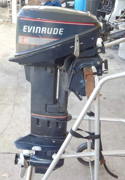 Evinrude 15 Hp >> Long Shaft Evinrude 15 Hp Outboard For Sale