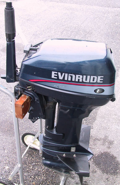 Used Evinrude 15 Hp Outboard Boat Motor For Sale