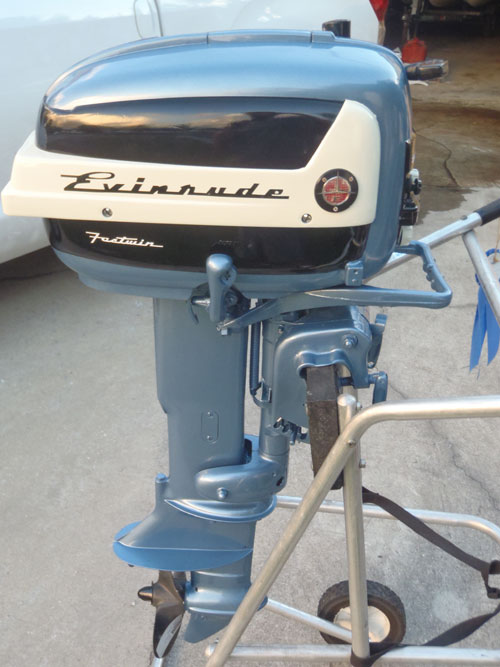 Motors For Sale >> 18 hp Evinrude Outboard
