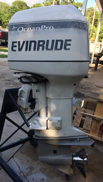 200 Hp Evinrude Ocean Runner For Sale  4295 00