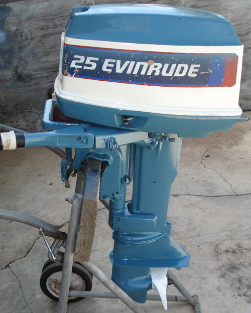 25 hp evinrude outboard for sale