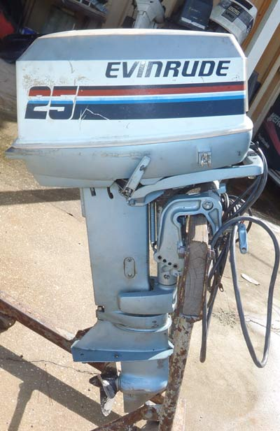 25 Hp Evinrude For Sale >> Used 25hp Outboard For Sale
