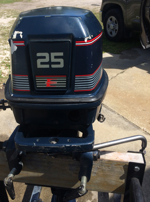 hp evinrude long shaft outboard remote ship outboards smalloutboards