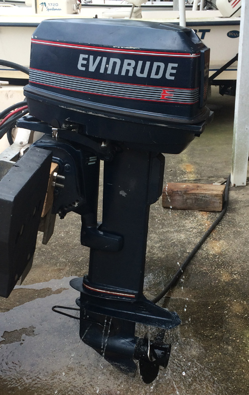 How To Make An Electric Motor >> Used 25 hp Evinrude Long Shaft Outboards For Sale