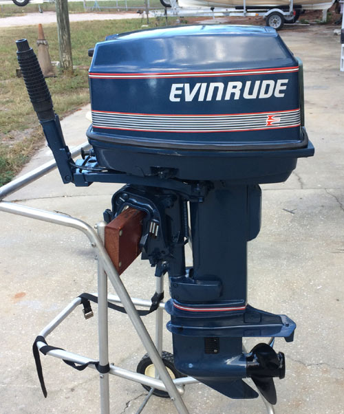Used Small Boat Engines For Sale: Used 25hp Outboard For Sale
