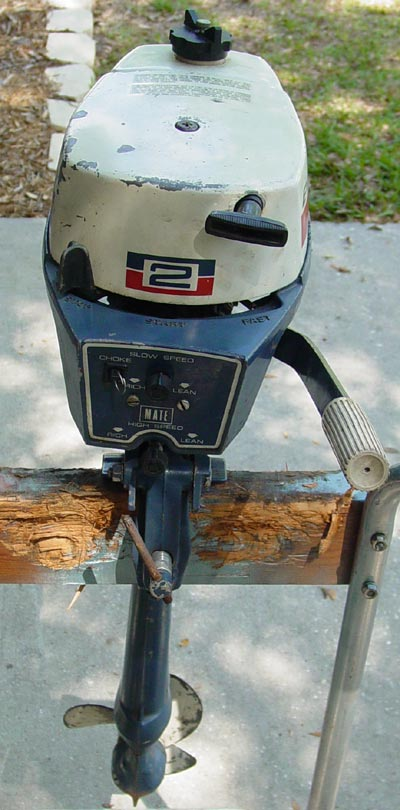 Used evinrude 2 hp outboard motor for sale for Used outboard motors for sale in ga