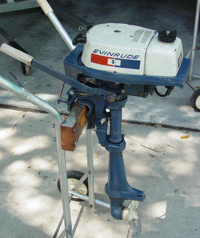 Used Evinrude 2 Hp Outboard Motor For Sale