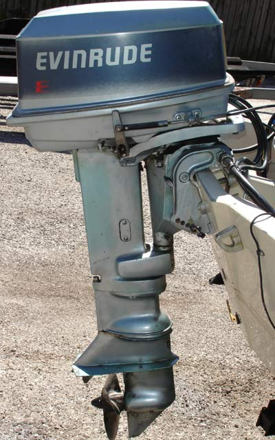 28 Hp Evinrude Outboard