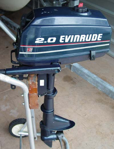 2 Hp Evinrude Outboard Boat Motor For Sale