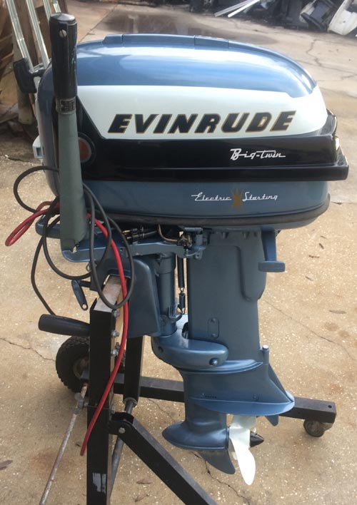1956 30 hp evinrude outboard antique boat motor for sale for 30 hp outboard motors