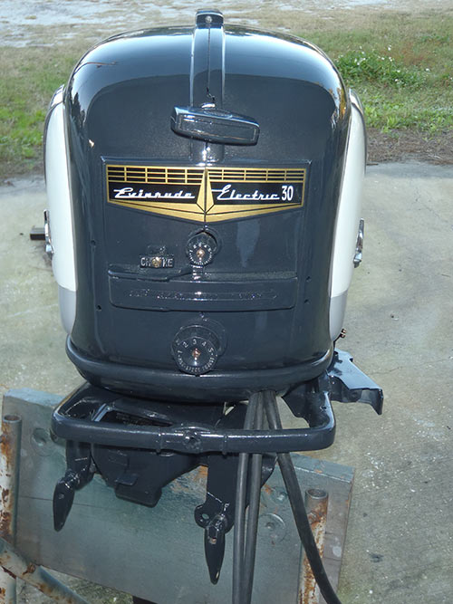 25 Hp Evinrude For Sale >> 1956 30 hp Evinrude Lark Outboard Antique Boat Motor For Sale