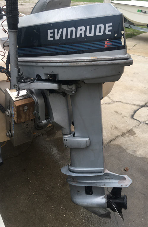 30 Hp Evinrude Outboard