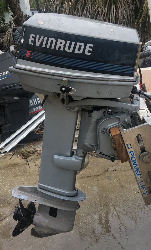 Small Outboard Motors >> 30 hp Evinrude Outboard