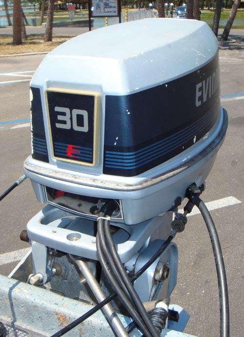 30 hp evinrude outboard