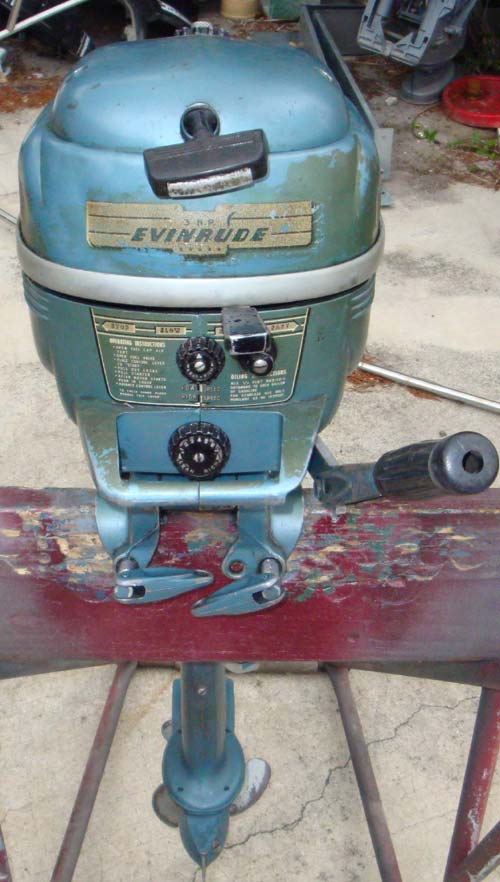 Types Of Motor >> 1954 3 hp Evinrude Lightwin Outboard