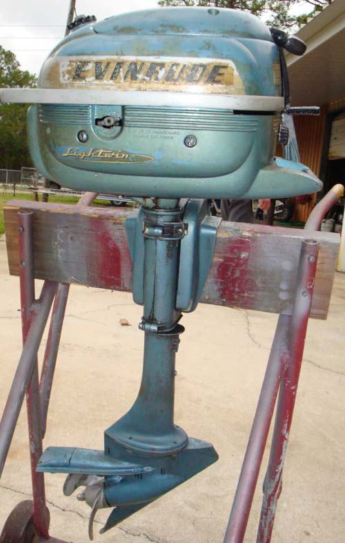 1954 3 Hp Evinrude Lightwin Outboard