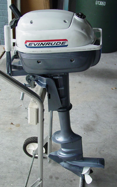 3 Hp Evinrude Long Shaft Outboard For Sale
