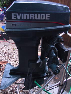 Used evinrude 40 hp outboard motor for sale power tilt and for 40 hp evinrude outboard motor for sale