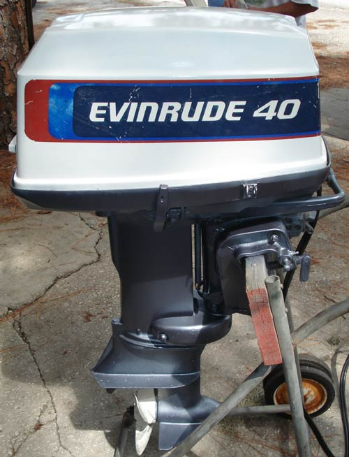 used 40 hp evinrude outboard boat motors for sale For40 Hp Evinrude Outboard Motor For Sale