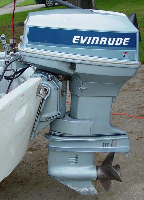 40hp Evinrude Short Shaft Outboard