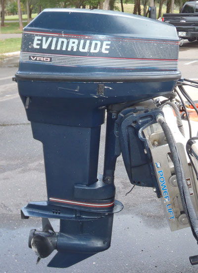 Evinrude 40 Hp Outboard For Sale Vro Oil Injection