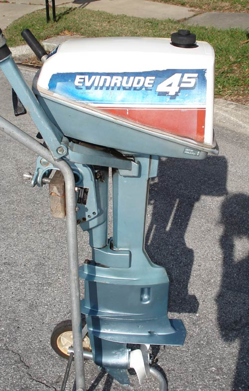 4 5 Hp Evinrude Long Shaft