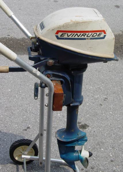 Evinrude outboard motor 4hp used outboard motors for for Used evinrude boat motors for sale