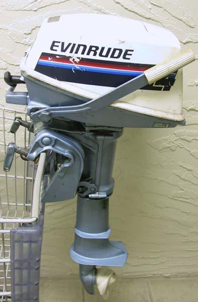 Used 4 Hp Evinrude Outboard Motor Evinrude Boat Motors