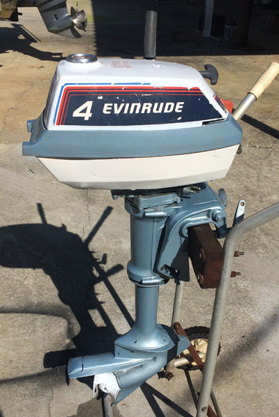 Evinrude 4hp Four Horsepower