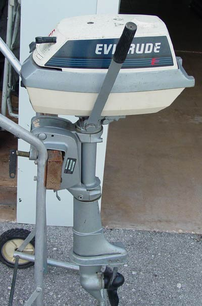 Evinrude outboard motor 4hp used outboard motors for for New johnson boat motors for sale