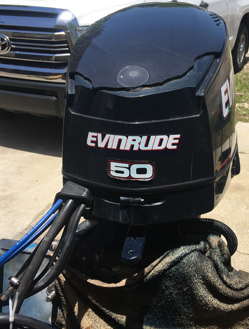 Used 50 Hp Evinrude Outboard Boat Motors For Sale