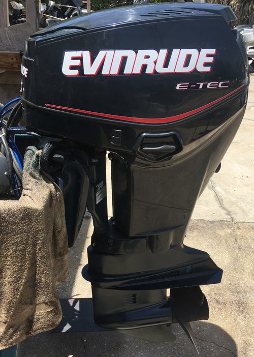 Used Engine For Sale >> Used 50 hp Evinrude Outboard Boat Motors For Sale.